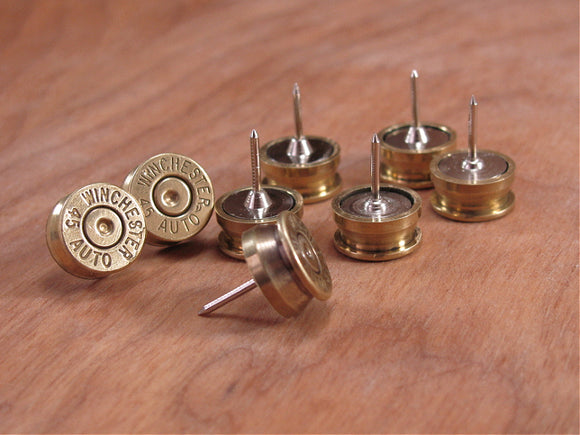 Bullet Push Pins / Bullet Thumbtacks-SureShot Jewelry