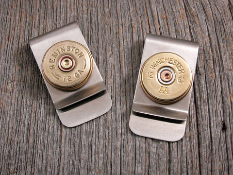 12 Gauge Shotshell Money Clip - Choice of Brands