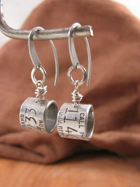 Duck Band Hoop Style Dangle Earrings-SureShot Jewelry