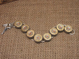 shotshell jewelry- 28 gauge shotgun casing bracelet