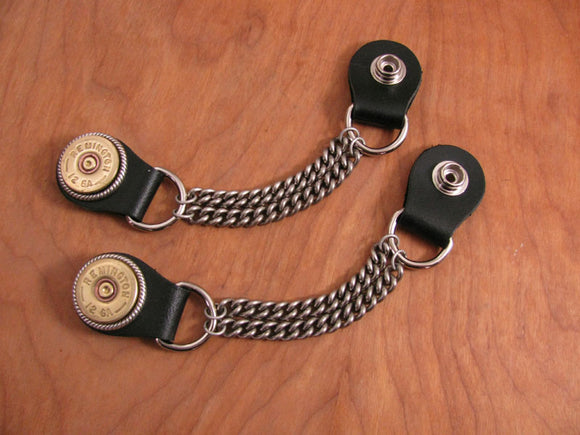 Vest Extenders - Biker Accessories - Mens 12 Gauge Chain Vest Extenders-SureShot Jewelry