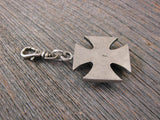 Zipper Pull - Maltese Cross Bullet Zipper Pulls-SureShot Jewelry