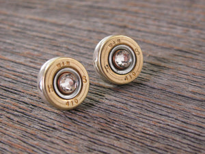 Bullet Earrings - Bullet Studs - 410 Gauge Shotshell Stud Earrings - SureShot Jewelry