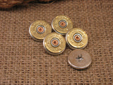 Button Shanks - Blazer Buttons - 20 Gauge Shotshell Buttons-SureShot Jewelry