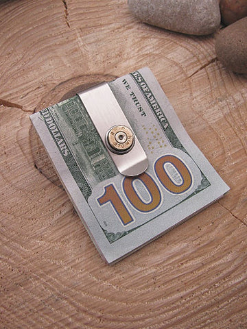 Bullet Money Clip - Slim Style - Choice of Caliber