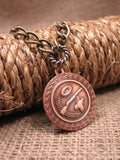 Vintage Copper Skeet/Trap Shooting Medallion Necklace - Unisex-SureShot Jewelry