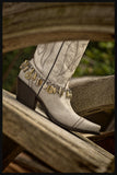 Loaded Bullet & Shotshell Mixed Metal Boot Bracelet - BEST SELLER!-SureShot Jewelry