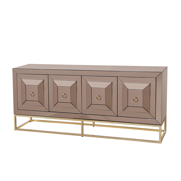 Dressoir Preston Sepia / Goud