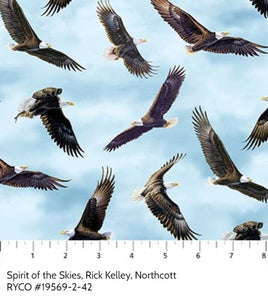 Spirit of the Skies, Rick Kelley, Northcott Fabric