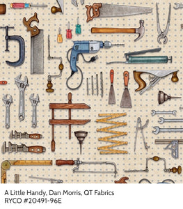 A Little Handy by Dan Morris for QT Fabrics