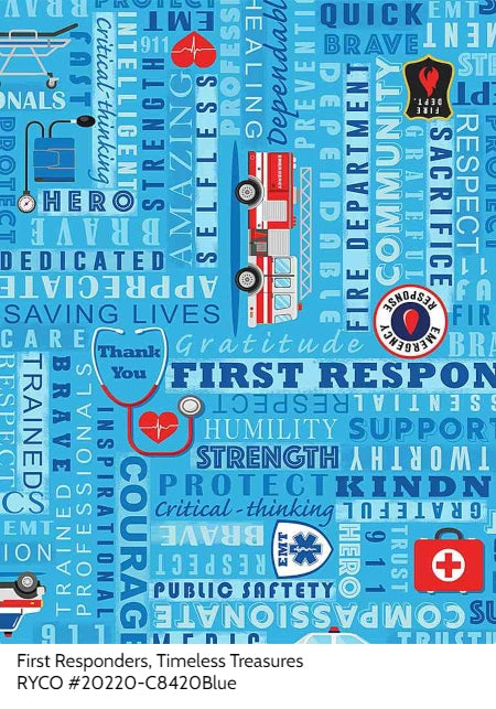 First Responders by Timeless Treasures