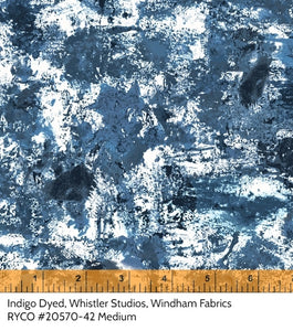 Indigo Dyed by Whistler Studios for Windham Fabrics