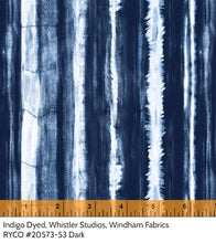 Load image into Gallery viewer, Indigo Dyed by Whistler Studios for Windham Fabrics
