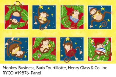 Monkey Business, Barb Tourtillotte, Henry Glass & Co