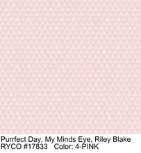 Load image into Gallery viewer, Purrfect Day, My Mind's Eye, Riley Blake