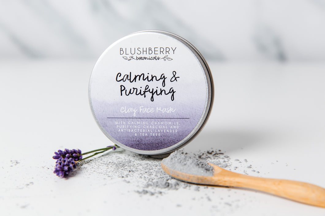 Calming and Purifying Clay Face Mask (24g)