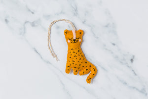 Leopard hanging decoration