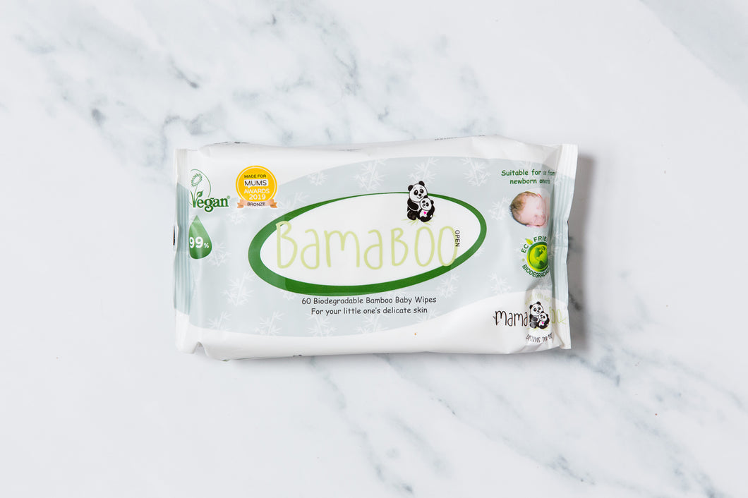 Bamaboo Baby Wipes