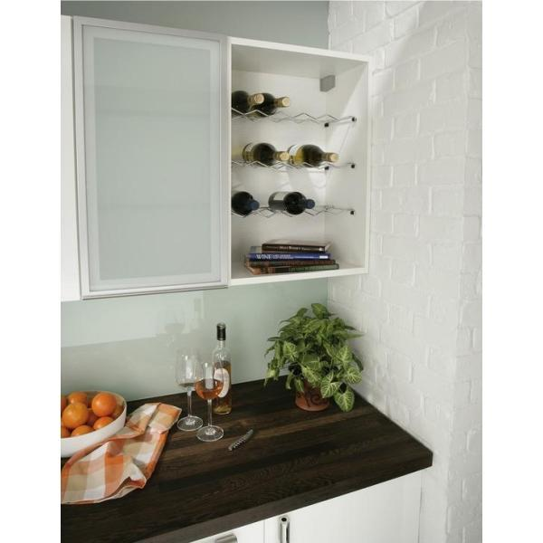 Single Shelf Chrome Wire Wine Rack - 541.90.230