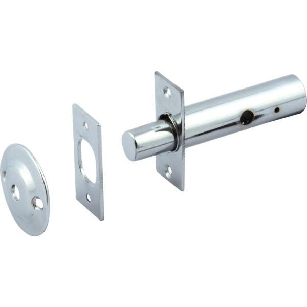 Mortice Door Security Bolt, Satin Nickel - 911.62.322