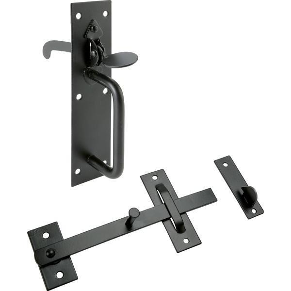 Suffolk Latch, Black - 911.63.027
