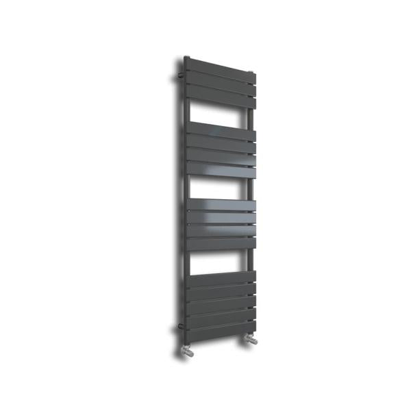 1200x450mm Designer Grey Towel Radiator - ABS2091