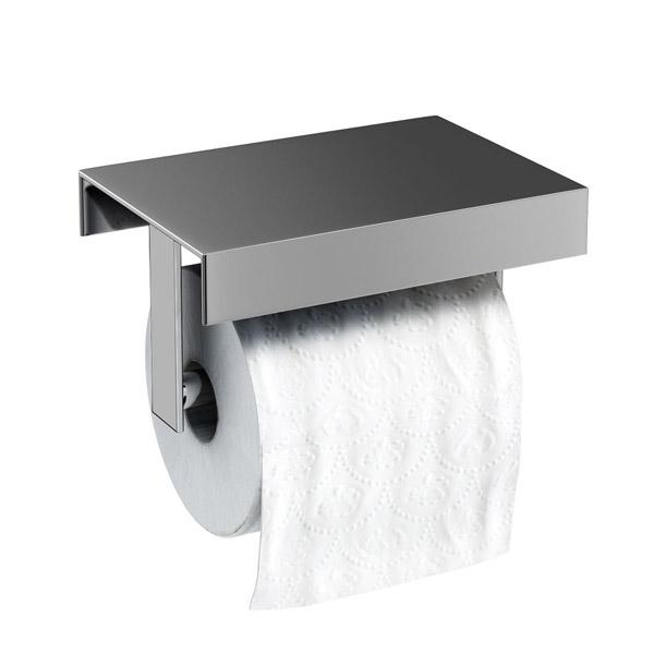 Britton Stainless Steel Toilet Roll Holder - BR12