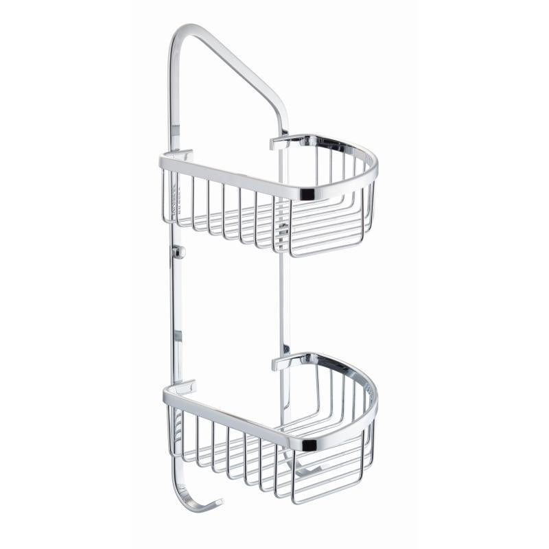 Double Wire Corner Soap Caddy - BSK005