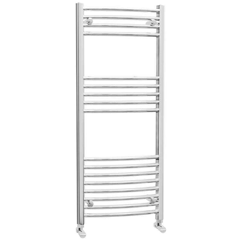 Chrome Curved Heated Towel Rail 1200x500mm - CHTR5/12