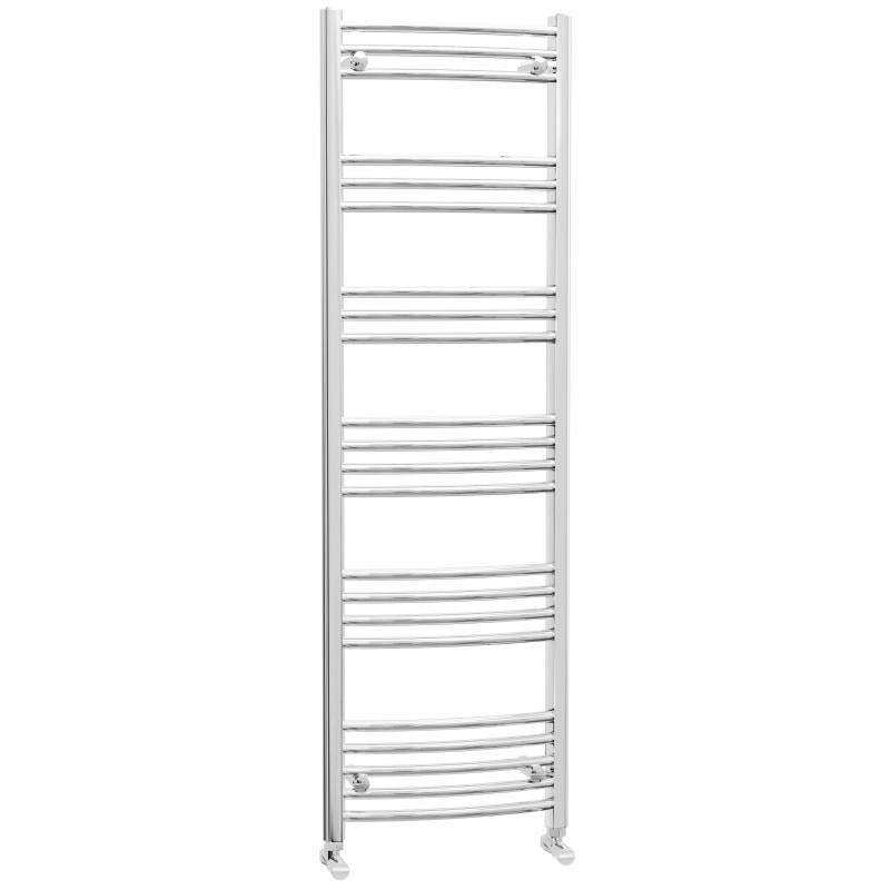 Chrome Curved Heated Towel Rail 1600x500mm - CHTR5/16