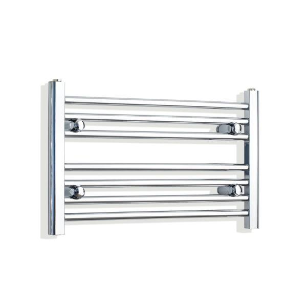 700x400mm Straight Horizontal Towel Rail Chrome - FC-70-40
