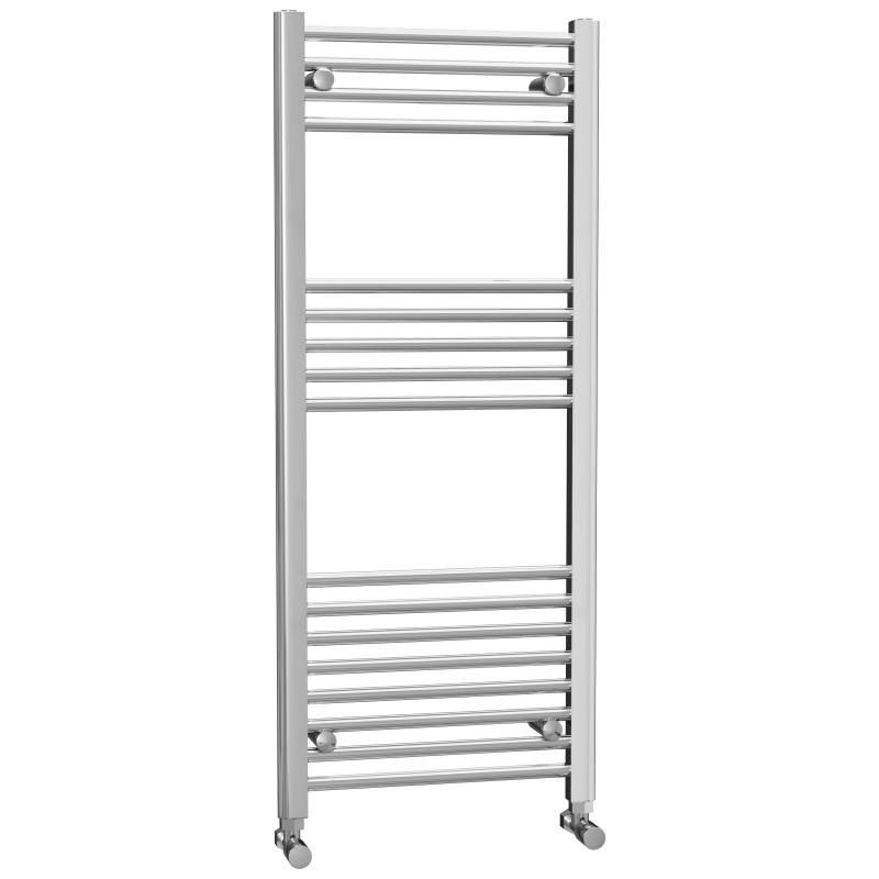 Chrome Flat Heated Towel Rail 1200x500mm - FHTR5/12