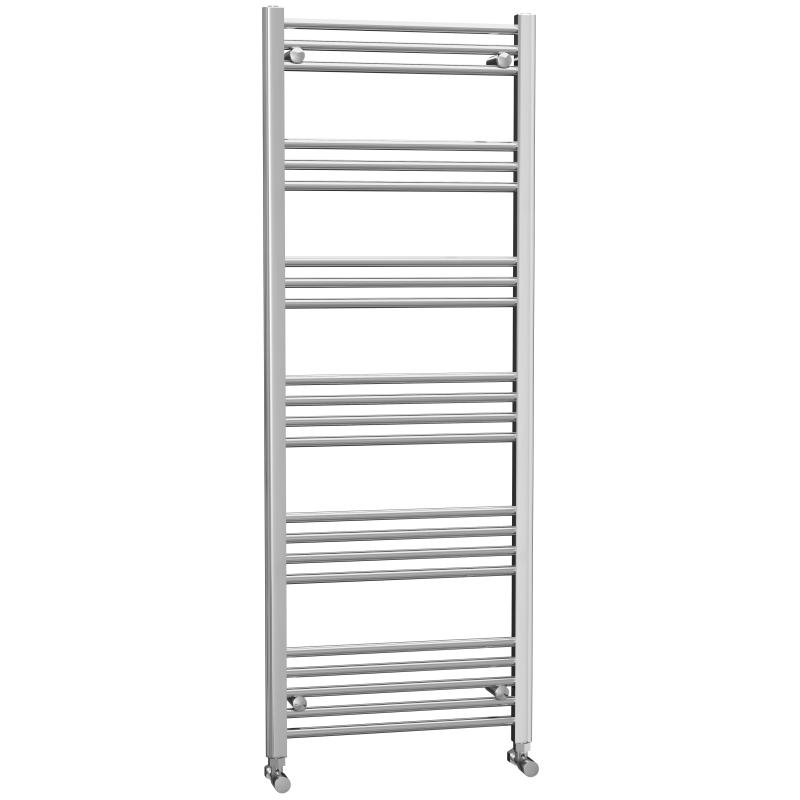 Chrome Flat Heated Towel Rail 1600x600mm - FHTR6/16