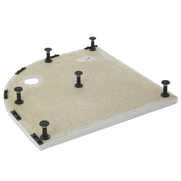 Leg Set & Plinth Kit (900x900mm Curved Plinth) - LEGB