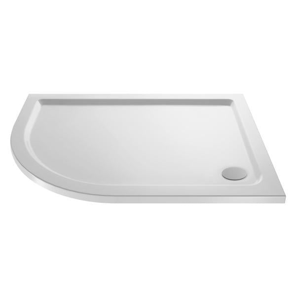 Offset Quadrant Shower Tray Left Hand 1000x800mm - NTP108