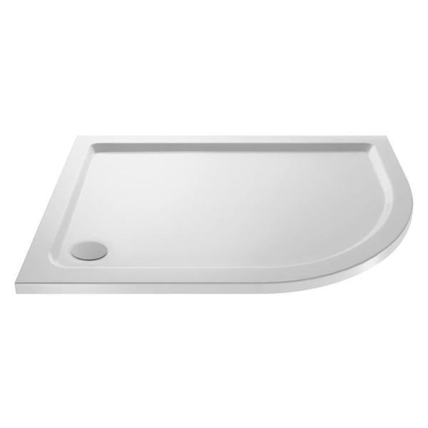 Offset Quadrant Shower Tray Right Hand 1200x800mm - NTP113