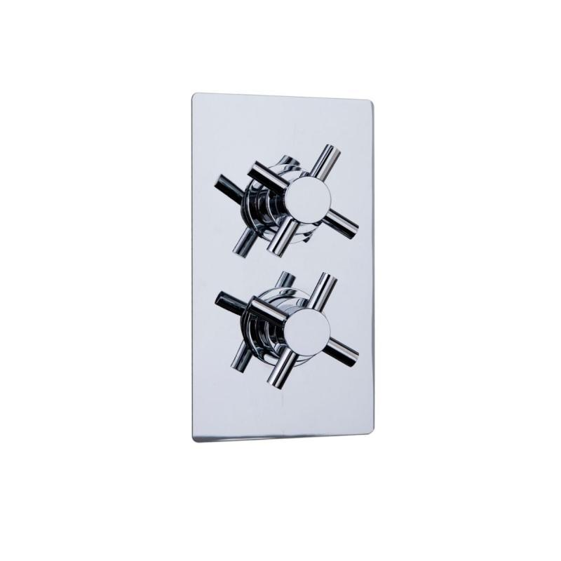 Reno Twin Crosshead Concealed Shower Valve - TCCV03-A