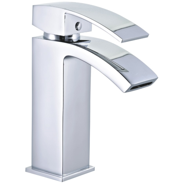 Ruby Modern Tall Curve Mono Basin Mixer - 035.31.001