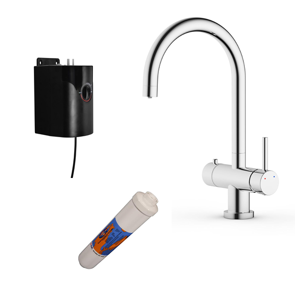 Hot Stream 3-in-1 Boiling Water Tap & Filter - 035.101.001