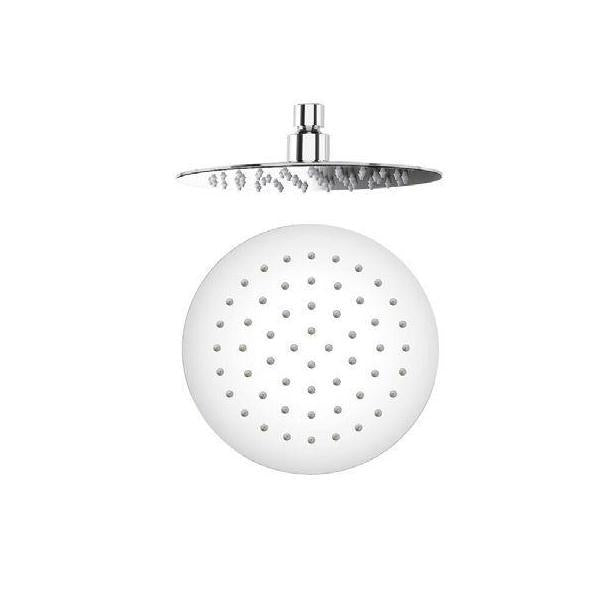 Super Slim Round Fixed Shower Head 200x200mm - HEAD20