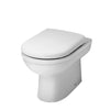 Ultra Ivo Back to Wall Pan - SEAT NOT INCLUDED - NCS286