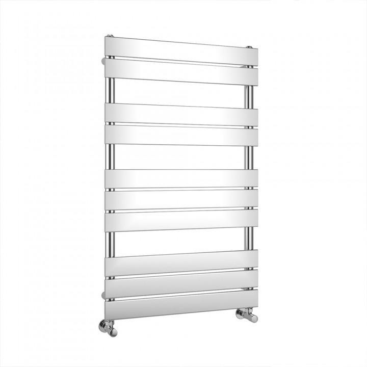 Chrome Flat Panel Heated Towel Rail 1000 X 600mm - ABS2076 - Last One