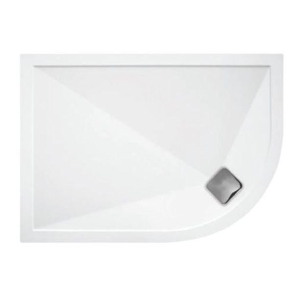 TrayMate TM25 Elementary 1200x900mm Offset Quadrant Shower Tray Right Hand - 118.DQ129R
