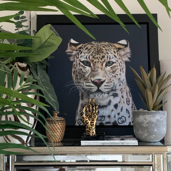 Leopard Print Decorative Hand