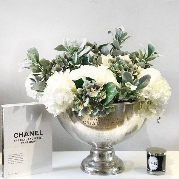 Fresh Spring Luxe Statement Ice Bucket Arrangement