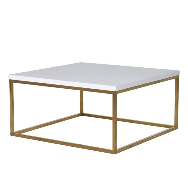 Gloss White Top Coffee Table