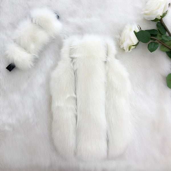 Ivory Pelted Luxe Faux Fur Hot Water Bottle - Options Available