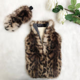 Leopard Print Luxe Faux Fur Hot Water Bottle - Options Available