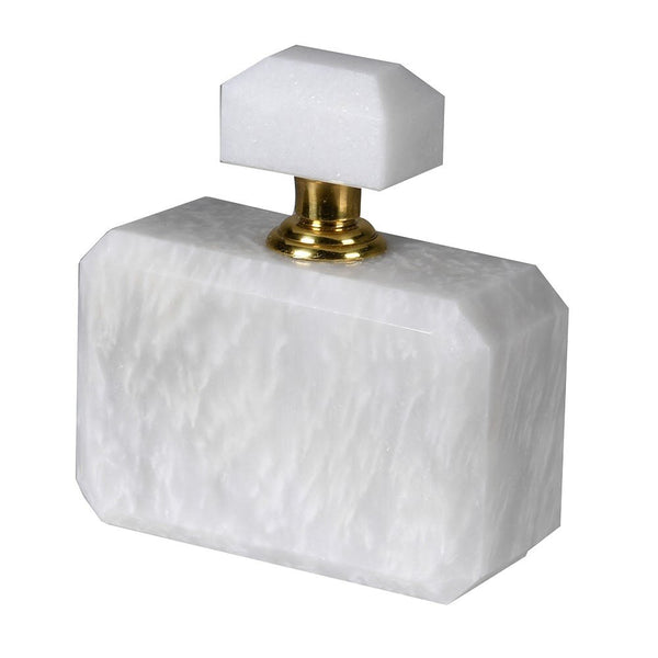 White Marble Perfume Bottle