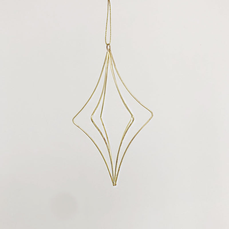 Brass Geo Wire Decoration